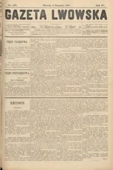 Gazeta Lwowska. 1907, nr178