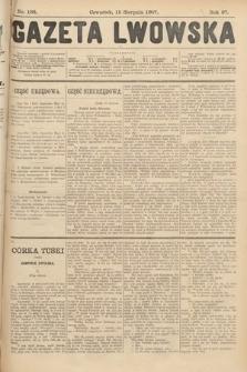 Gazeta Lwowska. 1907, nr186