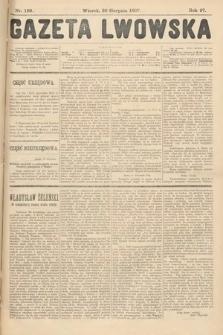 Gazeta Lwowska. 1907, nr189