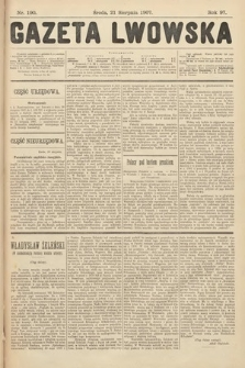 Gazeta Lwowska. 1907, nr190