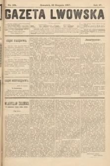 Gazeta Lwowska. 1907, nr191