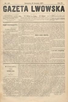 Gazeta Lwowska. 1907, nr197