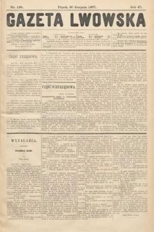 Gazeta Lwowska. 1907, nr198