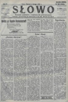 Słowo. 1923, nr26