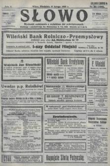 Słowo. 1923, nr33