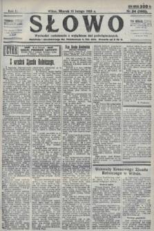 Słowo. 1923, nr34