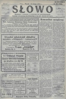 Słowo. 1923, nr40