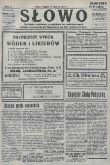Słowo. 1923, nr61