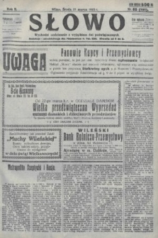 Słowo. 1923, nr65