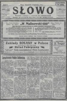 Słowo. 1923, nr74