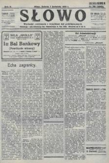 Słowo. 1923, nr76