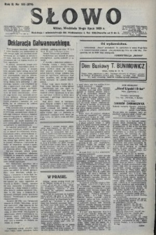 Słowo. 1923, nr153
