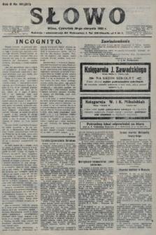 Słowo. 1923, nr191