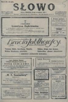 Słowo. 1923, nr211