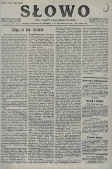 Słowo. 1923, nr241