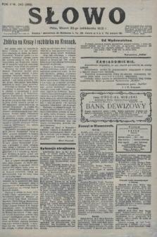 Słowo. 1923, nr242