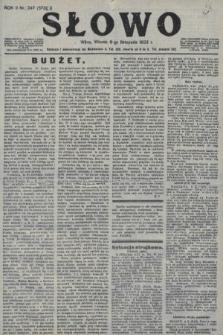 Słowo. 1923, nr247