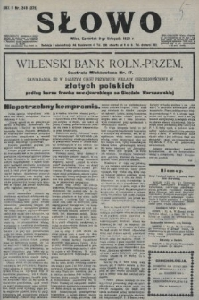 Słowo. 1923, nr249