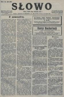 Słowo. 1923, nr256