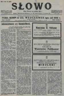 Słowo. 1923, nr271