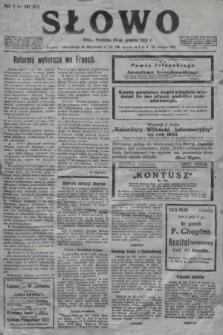 Słowo. 1923, nr291