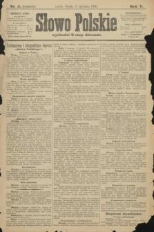 Słowo Polskie (wydanie poranne). 1900, nr4