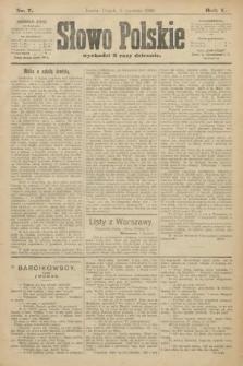 Słowo Polskie. 1900, nr7