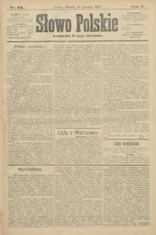 Słowo Polskie. 1900, nr24