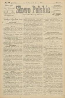 Słowo Polskie (wydanie poranne). 1900, nr31