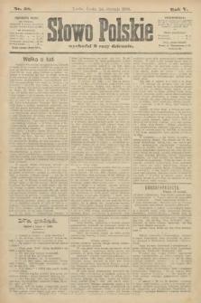 Słowo Polskie. 1900, nr38