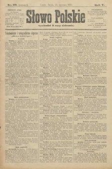 Słowo Polskie (wydanie poranne). 1900, nr39