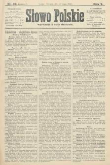 Słowo Polskie (wydanie poranne). 1900, nr49