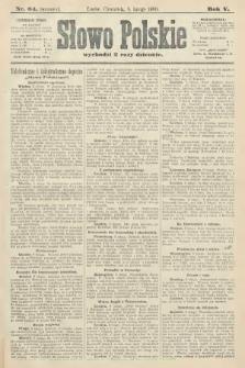 Słowo Polskie (wydanie poranne). 1900, nr64