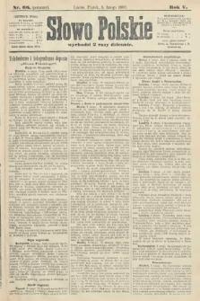 Słowo Polskie (wydanie poranne). 1900, nr66