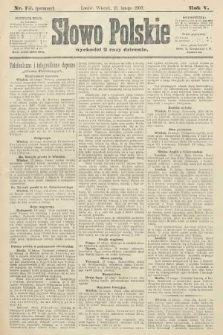 Słowo Polskie (wydanie poranne). 1900, nr72