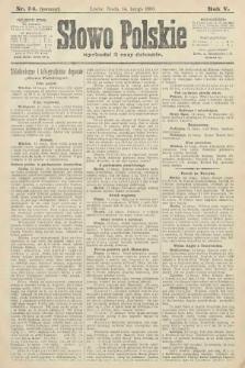 Słowo Polskie (wydanie poranne). 1900, nr74