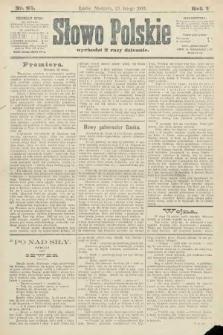 Słowo Polskie. 1900, nr93