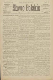 Słowo Polskie (wydanie poranne). 1900, nr98