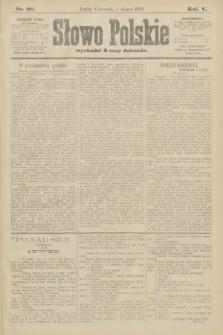 Słowo Polskie. 1900, nr99