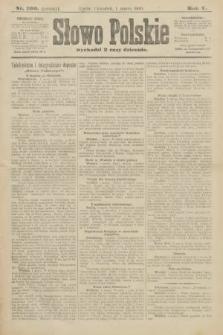 Słowo Polskie (wydanie poranne). 1900, nr100