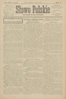 Słowo Polskie (wydanie poranne). 1900, nr104