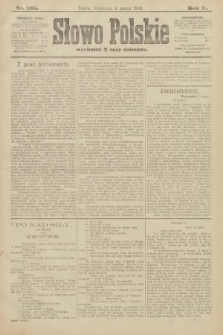 Słowo Polskie. 1900, nr105
