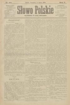 Słowo Polskie. 1900, nr111