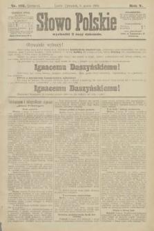 Słowo Polskie (wydanie poranne). 1900, nr112