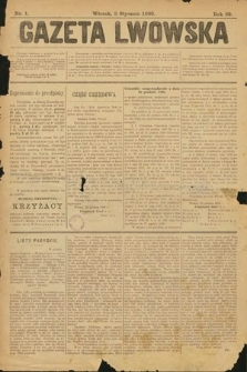 Gazeta Lwowska. 1899, nr 1