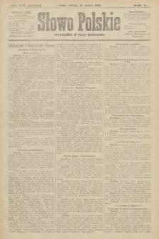 Słowo Polskie (wydanie poranne). 1900, nr116
