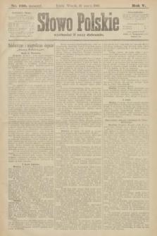 Słowo Polskie (wydanie poranne). 1900, nr120