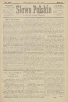 Słowo Polskie. 1900, nr123