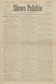 Słowo Polskie (wydanie poranne). 1900, nr132