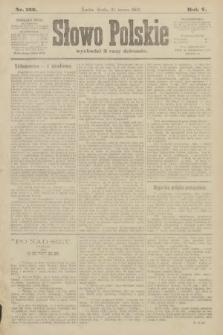 Słowo Polskie. 1900, nr133
